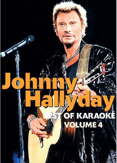 Johnny Hallyday - Best of karaoké - Volume 4 - DVD