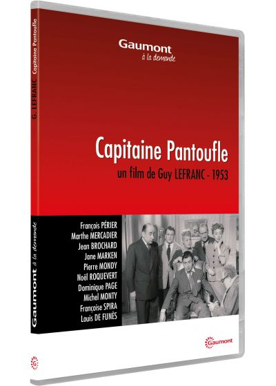 Capitaine Pantoufle - DVD