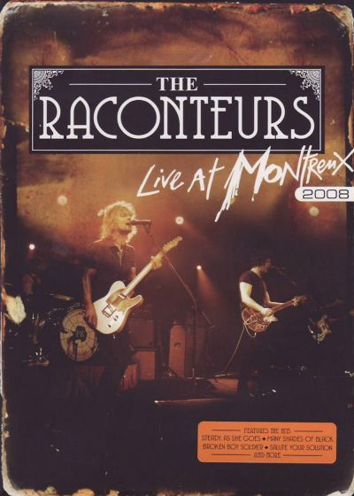 The Raconteurs : Live at Montreux 2008 - DVD
