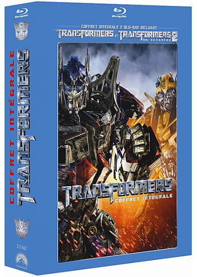 Transformers + Transformers 2 - La revanche (Pack) - Blu-ray