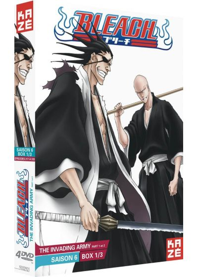 Bleach - Saison 6 : Box 1/3 : The Invading Army Part 1 et 2 - DVD