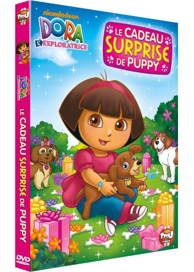 Dora l'exploratrice - Le cadeau surprise de Puppy - DVD