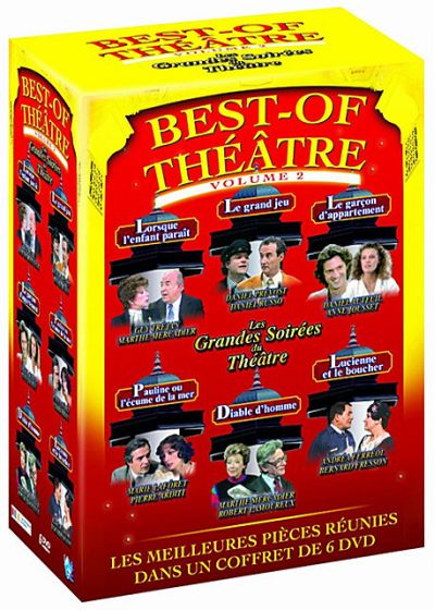 Best of Théâtre - Vo. 2 (Pack) - DVD
