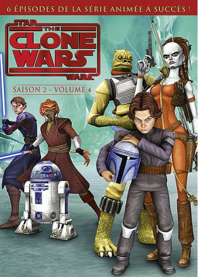 Star Wars - The Clone Wars - Saison 2 - Volume 4 - DVD