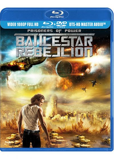 Battlestar Rebellion - Prisoners of Power (Blu-ray + Copie digitale) - Blu-ray