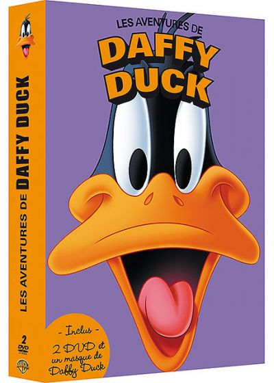 Coffret 2 DVD + 1 masque - Les aventures de Daffy Duck (Pack) - DVD