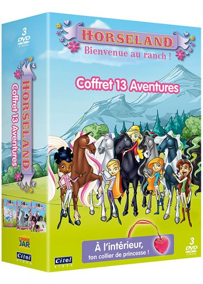 Horseland, bienvenue au ranch ! - Coffret 13 aventures (Pack) - DVD