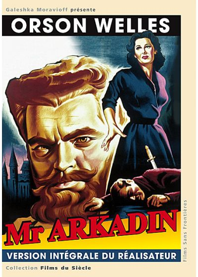 Dossier secret a.k.a. Mr Arkadin (Version intégrale) - DVD