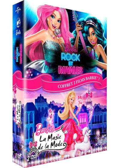 Barbie - Rock et royales + La magie de la mode (Pack) - DVD