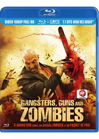 Gangsters, Guns and Zombies (Blu-ray + Copie digitale) - Blu-ray