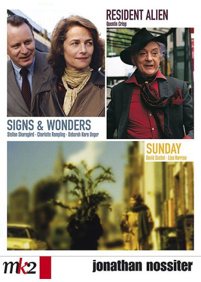 Jonathan Nossiter - Coffret - Sunday + Resident Alien + Signs & Wonders - DVD