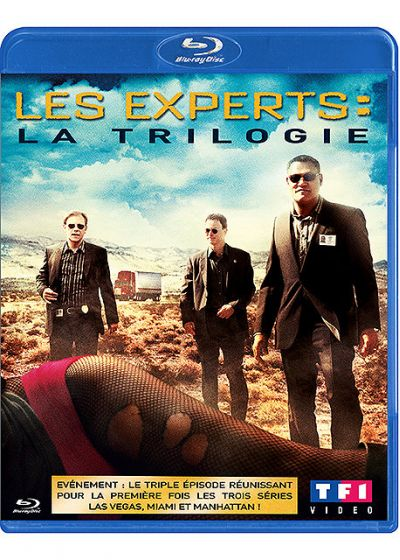 Les Experts : la trilogie - Blu-ray