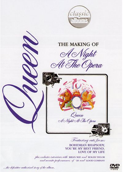 "Queen - The Making of ""A Night At The Opera"" (Édition Collector) - DVD"