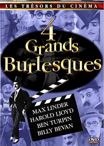 4 Grands burlesques - DVD