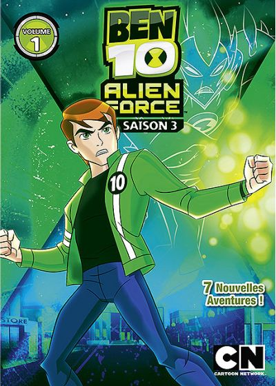 Ben 10 Alien Force - Saison 3 - Volume 1 - DVD