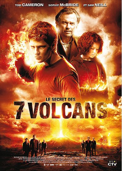 Le Secret des sept volcans - DVD