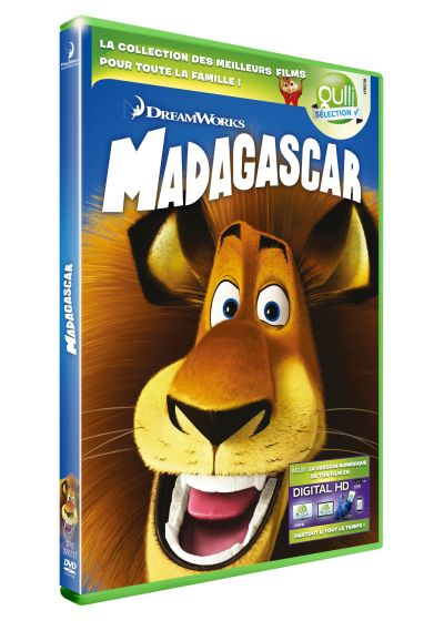 Madagascar (DVD + Digital HD) - DVD