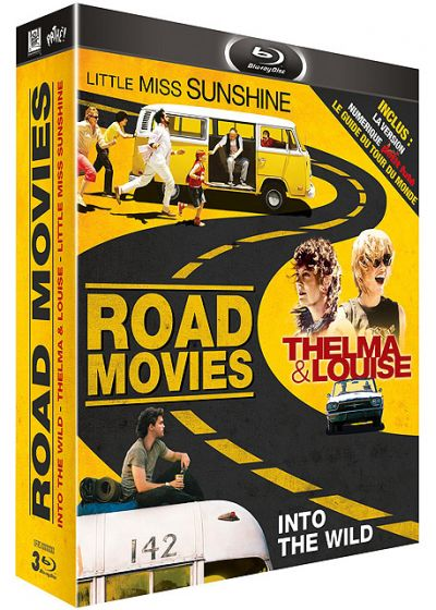 Road Movie : Little Miss Sunshine + Thelma & Louise + Into the Wild (+ Goodies) - Blu-ray
