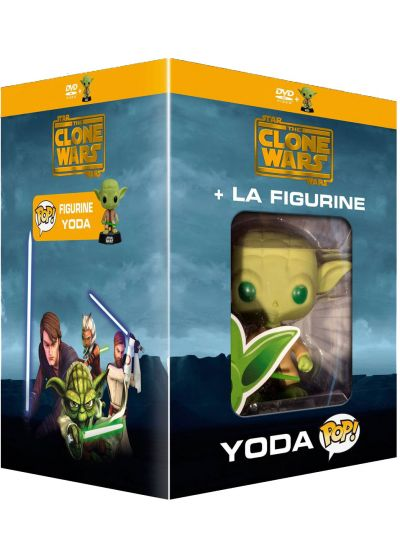Star Wars - The Clone Wars - L'intégrale - Saisons 1 à 5 (+ figurine Pop! (Funko)) - DVD