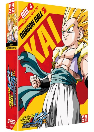 Dragon Ball Z Kai - Box 4/4 : The Final Chapters - DVD