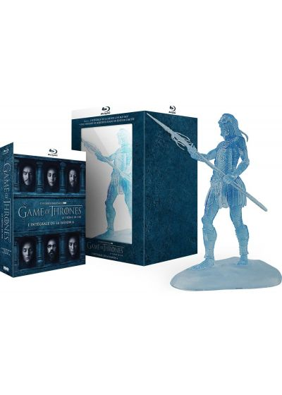 "Game of Thrones (Le Trône de Fer) - Saison 6 (Édition collector limitée - Blu-ray + Figurine ""White Walker"") - Blu-ray"