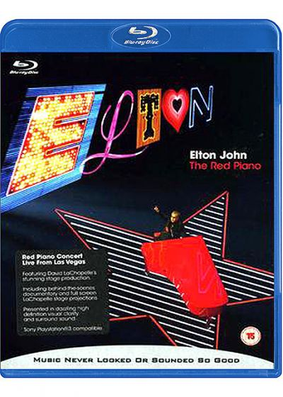 John, Elton - The Red Piano - Blu-ray
