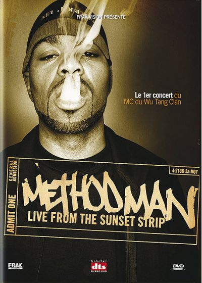 Method Man - Live from the Sunset Strip - DVD