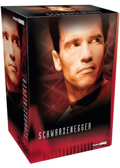 Schwarzenegger - Coffret 4 films (Édition Collector) - DVD