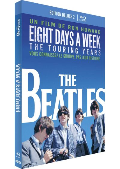 The Beatles: Eight Days A Week - The Touring Years (Édition Deluxe - 2 Blu-ray + livre) - Blu-ray