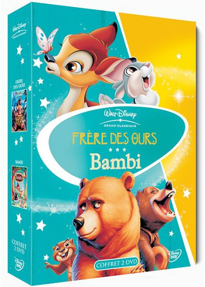 Frère des ours + Bambi - DVD
