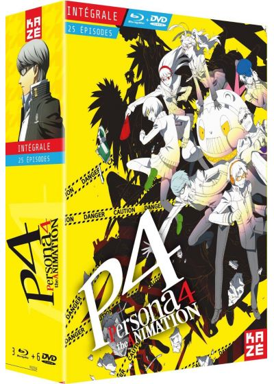 Persona 4 : The Animation - Intégrale (Combo Blu-ray + DVD) - Blu-ray