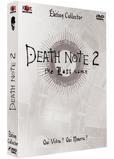 Death Note 2 - The Last Name (Édition Collector) - DVD