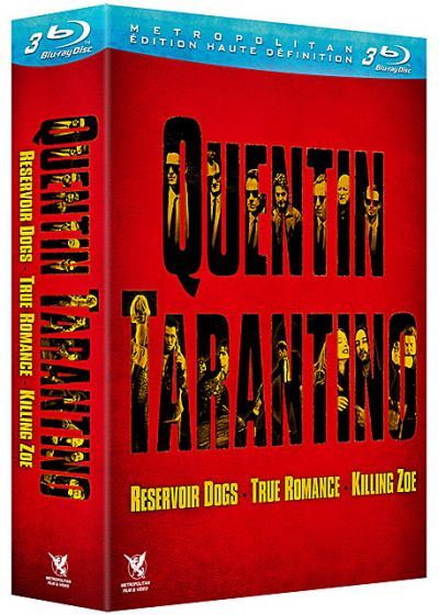 Quentin Tarantino : Reservoir Dogs + True Romance + Killing Zoe (Pack) - Blu-ray