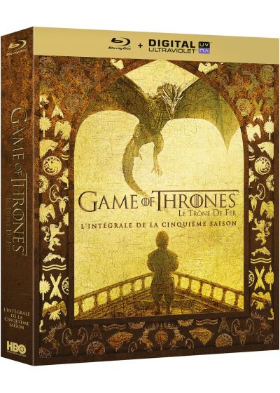 Game of Thrones (Le Trône de Fer) - Saison 5 (Blu-ray + Copie digitale) - Blu-ray