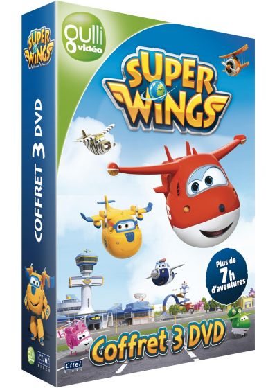 Super Wings - Coffret 3 DVD - DVD