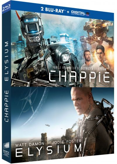 Chappie + Elysium (Blu-ray + Copie digitale) - Blu-ray