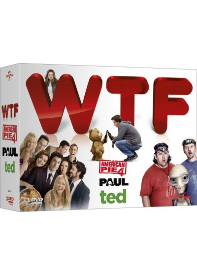 WTF (What the Fuck!) - Coffret : Paul + Ted + American Pie 4 (Pack) - DVD