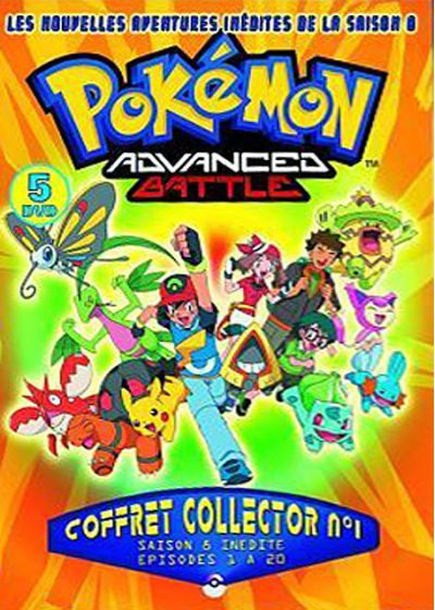 Pokemon Advanced Battle - Saison 8 n°1 (Édition Collector) - DVD