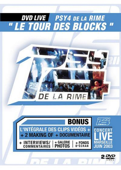 Psy 4 de la Rime - Le Tour des Blocks - DVD