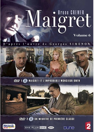 Maigret - La collection - Vol. 6 - DVD