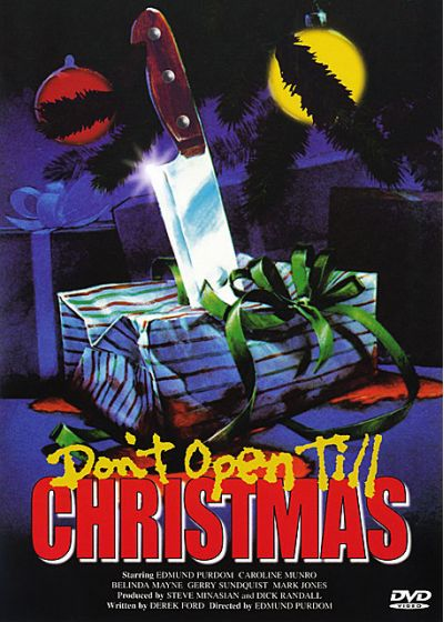 Don't Open Till Chrismas (Édition Collector Limitée) - DVD