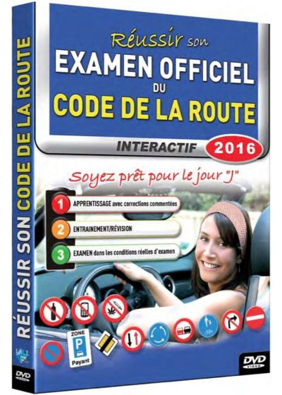 dvdfr r ussir son examen officiel du code de la route 2016 dvd. Black Bedroom Furniture Sets. Home Design Ideas