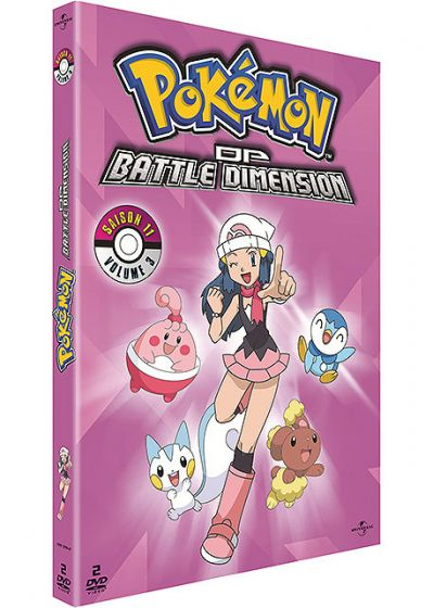 Pokémon - DP - Battle Dimension (Saison 11) - Volume 3 - DVD