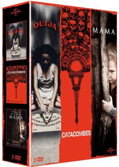 Ouija + Catacombes + Mama (Pack) - DVD
