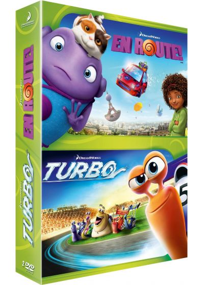 En route ! + Turbo (Pack) - DVD