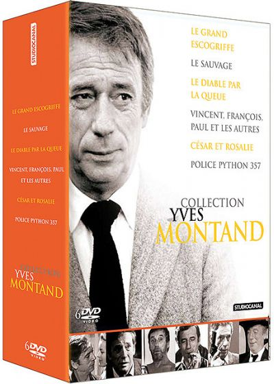 Collection Yves Montand - Coffret 6 films (Pack) - DVD