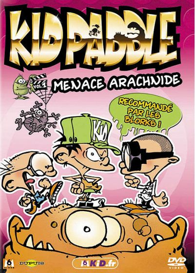 Kid Paddle - Vol. 1 - Menace arachnide - DVD