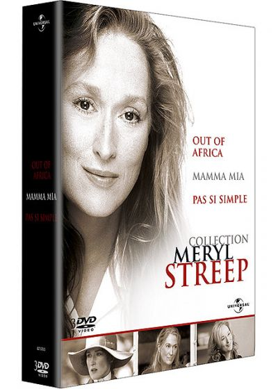 Coffret Meryl Streep - Out of Africa + Mamma Mia ! + Pas si simple - DVD