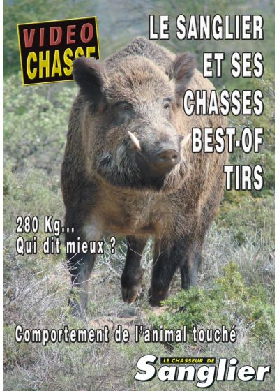 Le sanglier et ses chasses - Best-of tirs - Vol. 49 - DVD