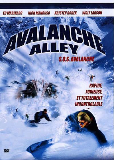 Avalanche Alley - DVD